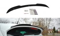 Maxton Design Nástavec střešního spoileru Renault Clio RS Mk4 - texturovaný plast