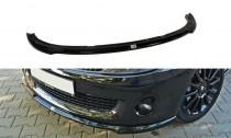 Maxton Design Spoiler předního nárazníku Renault Clio RS Mk3 - texturovaný plast