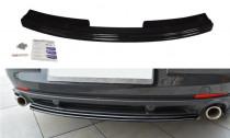 Maxton Design Spoiler zadního nárazníku Renault Laguna Mk3 Coupe - texturovaný plast