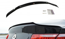 Maxton Design Lišta víka kufru Renault Laguna Mk3 Coupe - texturovaný plast