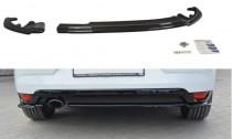 Maxton Design Spoiler zadního nárazníku Renault Megane Mk4 - texturovaný plast