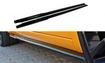 Maxton Design Prahové lišty Renault Megane RS Mk2 - texturovaný plast