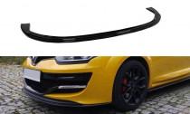 Maxton Design Spoiler předního nárazníku Renault Megane RS Mk3 V.1 - texturovaný plast