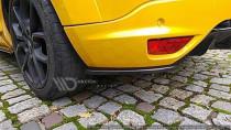 Maxton Design Boční lišty zadního nárazníku Renault Megane RS Mk3 - texturovaný plast