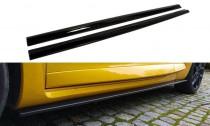 Maxton Design Prahové lišty Renault Megane RS Mk3 - texturovaný plast
