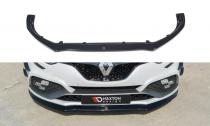 Maxton Design Spoiler předního nárazníku Renault Megane RS Mk4 V.2 - texturovaný plast