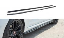 Maxton Design Prahové lišty Renault Megane RS Mk4 - texturovaný plast