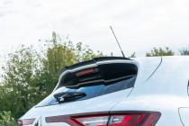 Maxton Design Nástavec střešního spoileru Renault Megane RS Mk4 - texturovaný plast