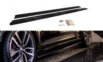 Maxton Design Prahové lišty Renault Talisman - texturovaný plast