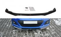 Maxton Design Spoiler předního nárazníku Subaru BRZ Facelift V.2 - texturovaný plast