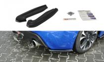 Maxton Design Boční lišty zadního nárazníku Subaru BRZ Facelift - texturovaný plast