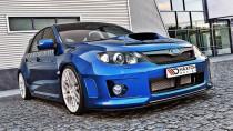 Maxton Design Spoiler předního nárazníku Subaru Impreza Mk3 WRX STI Facelift - texturovaný plast