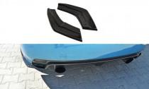 Maxton Design Boční lišty zadního nárazníku Subaru Impreza Mk3 WRX STI - texturovaný plast