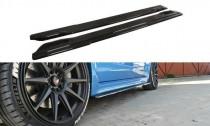 Maxton Design Prahové lišty Subaru Impreza Mk3 WRX STI - černý lesklý lak