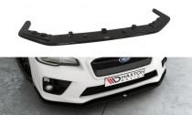 Maxton Design Spoiler předního nárazníku Subaru WRX STI V.2 - texturovaný plast