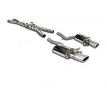 Catback výfuk s klapkami AUDI RS4 B7 4,2 FSI Supersprint - bez rezonátoru