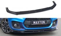 Maxton Design Spoiler předního nárazníku Suzuki Swift Sport - texturovaný plast