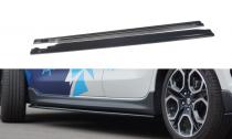 Maxton Design Prahové lišty Suzuki Swift Sport - texturovaný plast