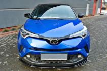 Maxton Design Spoiler předního nárazníku Toyota C-HR - texturovaný plast