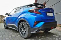 Maxton Design Boční lišty zadního nárazníku Toyota C-HR - texturovaný plast