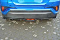 Maxton Design Spoiler zadního nárazníku Toyota C-HR - texturovaný plast