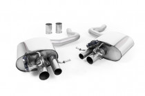 Klapkový koncový tlumič výfuku Mercedes C63 S W205 Coupe 4.0 V8 OPF/GPF Milltek Sport