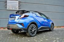 Maxton Design Prahové lišty Toyota C-HR - texturovaný plast