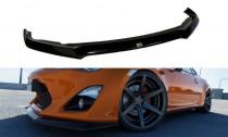 Maxton Design Spoiler předního nárazníku Toyota GT86 - texturovaný plast