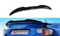 Maxton Design Nástavec spoileru víka kufru Toyota GT86 - texturovaný plast