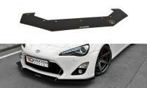 Maxton Design Spoiler předního nárazníku Racing Toyota GT86 V.3