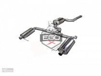 Bull-X Klapkový cat Back výfuk EGO-X Škoda Octavi III RS 2,0 TSI - Dálkový ovladač