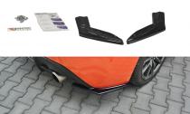 Maxton Design Boční lišty zadního nárazníku Toyota GT86 Facelift V.1 - texturovaný plast