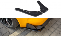 Maxton Design Boční lišty zadního nárazníku Toyota Supra Mk5 V.1 - texturovaný plast