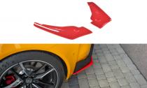 Maxton Design Boční lišty zadního nárazníku Toyota Supra Mk5 V.2 - texturovaný plast