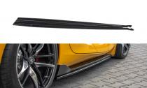 Maxton Design Prahové lišty Toyota Supra Mk5 V.1 - texturovaný plast