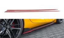 Maxton Design Prahové lišty Toyota Supra Mk5 V.2 - texturovaný plast
