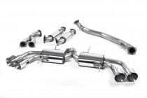 Primary catback RACE výfuk Nissan GT-R R35 Milltek Sport - bez rezonátorů / leštěné koncovky