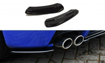 Maxton Design Boční lišty zadního nárazníku Alfa Romeo 147 GTA - texturovaný plast