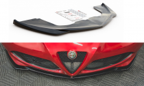 Maxton Design Spoiler předního nárazníku Alfa Romeo 4C - texturovaný plast