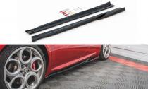 Maxton Design Prahové lišty Alfa Romeo 4C - texturovaný plast