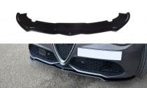 Maxton Design Spoiler předního nárazníku Alfa Romeo Giulia Veloce - texturovaný plast