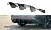 Maxton Design Spoiler zadního nárazníku Alfa Romeo Giulia Veloce - texturovaný plast
