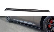 Maxton Design Prahové lišty Alfa Romeo Giulia Veloce - texturovaný plast