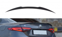 Maxton Design Lišta víka kufru Alfa Romeo Giulia Veloce - texturovaný plast