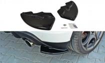 Maxton Design Boční lišty zadního nárazníku Alfa Romeo Giulietta - texturovaný plast
