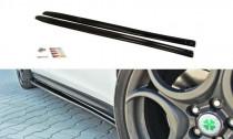 Maxton Design Prahové lišty Alfa Romeo Giulietta - texturovaný plast