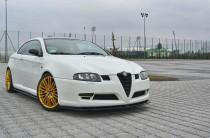 Maxton Design Spoiler předního nárazníku Alfa Romeo GT - texturovaný plast