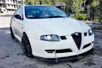 Maxton Design Hybridní spoiler předního nárazníku Alfa Romeo GT - texturovaný plast