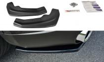 Maxton Design Boční lišty zadmího nárazníku Alfa Romeo Stelvio - texturovaný plast
