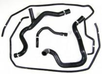 Silikonové hadice chladícího okruhu Ford Focus RS 2.5T FMKCFRS2 Forge Motorsport- Zelené